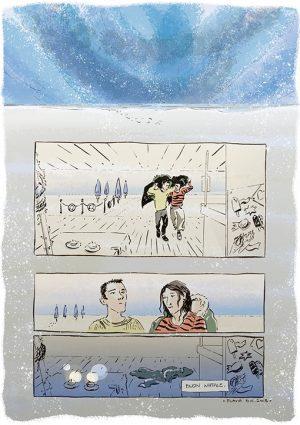 #1 Al mare nevica